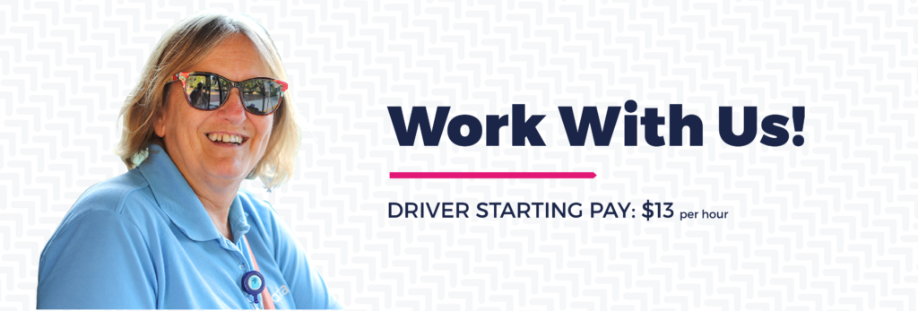Work With Us! Bus Driver Jobs Starting At $13 Per Hour.