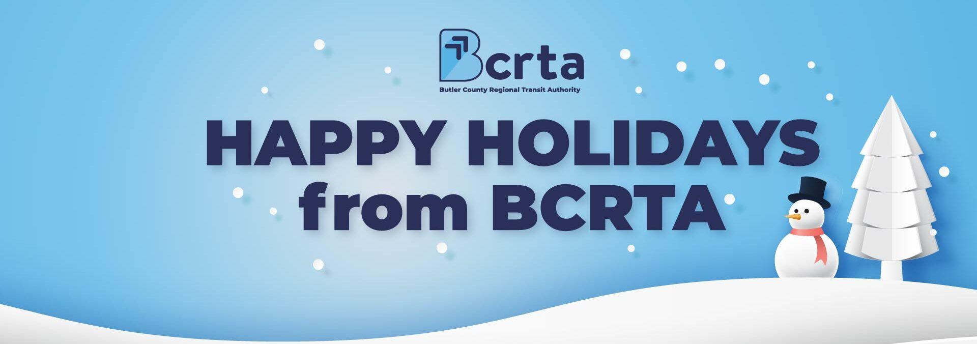 Happy Holidays from BCRTA